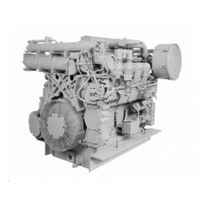 Motor pre použitie v lokomotívach Caterpillar 3508B