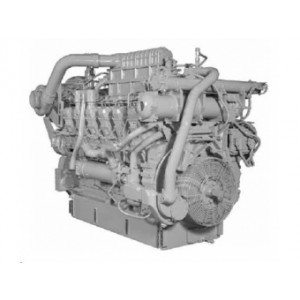 Motor pre použitie v lokomotívach Caterpillar 3512