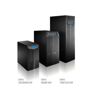 HPH Series UPS, Three Phase 20/30/40/60/80/100/120 kW