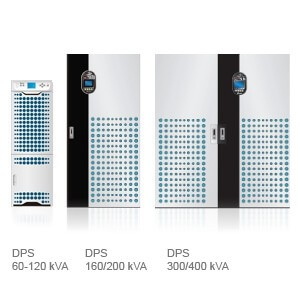 DPS Series UPS, Three Phase, 60/80/100/120/160/200/300/400kVA, scalable up to 3200kVA in parallel